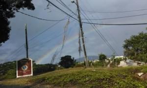 Rainbow in Hope Flat
