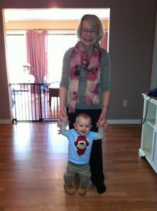 Ruth E and Grandchild