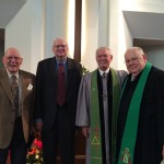 Current and Former Ft. Caroline Pastors