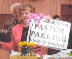 It's official, Pastor Shirley Mergan